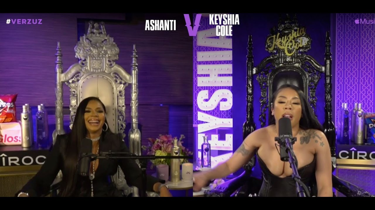 With Further Delay Keyshia Cole Verzuz Ashanti Went Down [VIDEO]