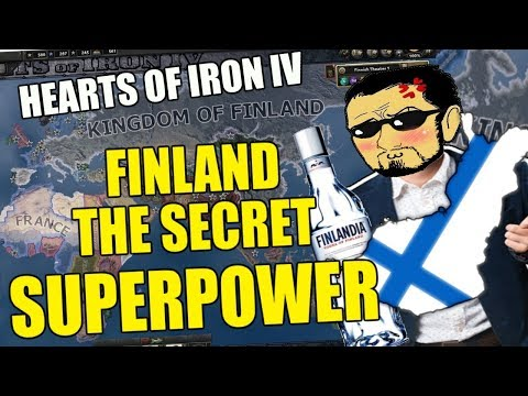 Hearts Of Iron 4: FINLAND The Secret SUPERPOWER