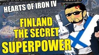 Hearts Of Iron 4 FINLAND The Secret SUPERPOWER
