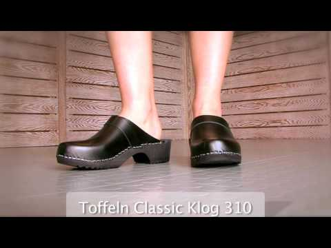 Red Toffeln Classic Klog 310 Work Clogs
