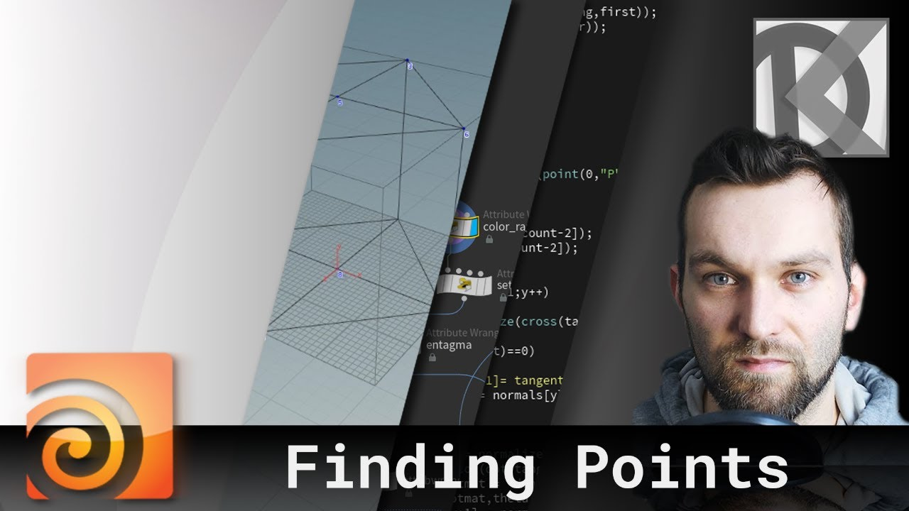 Find Points on Geometry with Point Clouds | Houdini VEX Quickies