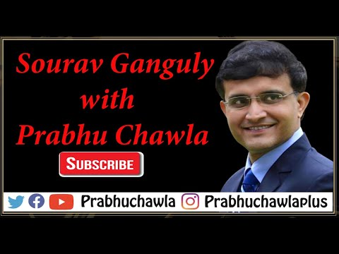 Seedhi Baat Sourav Ganguly with Prabhu Chawla