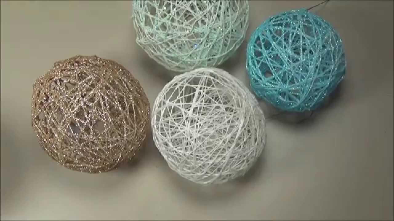 Balls of thread and glue 98