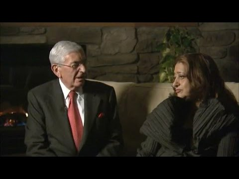 Eli Broad and Zaha Hadid discuss the Broad Art Museum project