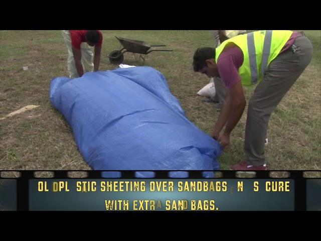 Sand Bag Construction