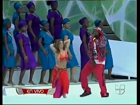 shakira hips dont lie   bamboo    at fifa 2006 world cup