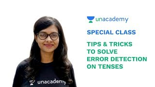Special Class - Tips to Solve Error Detection on Tenses for SSC & IBPS Exams - Shivangi Srivastava