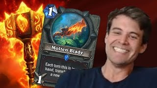 (Hearthstone) Who Wins in a Fight? Molten Blade VS Sulfuras