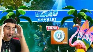 LAUNCHED new mode Valendo Vbucks at Fortnite season 10 Ft. ElDengoso and Sherby