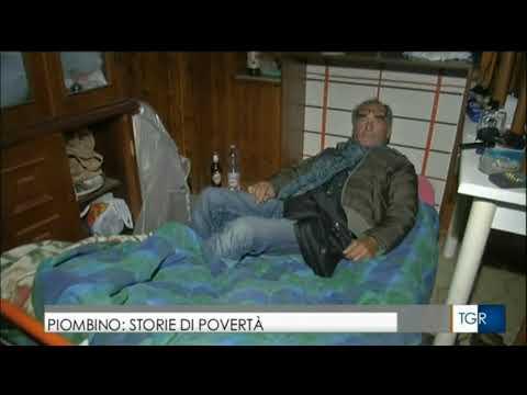 PIOMBINO STORIE DI POVERTA'  - TGR TOSCANA ORE 14'00 - PIOMBINO 6-11-2017