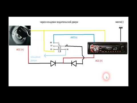 Правильное подключение автомагнитолы в автомобиль лада
