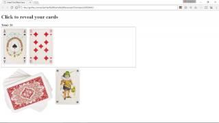 Learning jQuery & JavaScript - Blackjack application