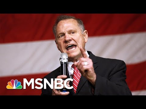 CBC Chairman Cedric Richmond On Roy Moore Slavery Comments: 'Appalling' | Andrea Mitchell | MSNBC