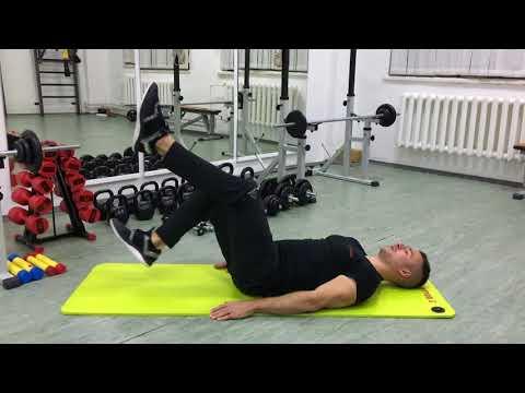 Упражнение для мышц брюшного пресса велосипед. Техника упражнения на пресс