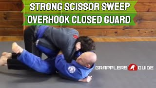 Strong Scissor Sweep From Overhook Closed Guard by Jason Scully