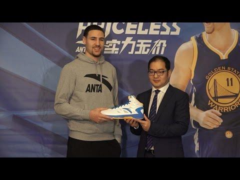 Klay's Signature Shoe Unveiling