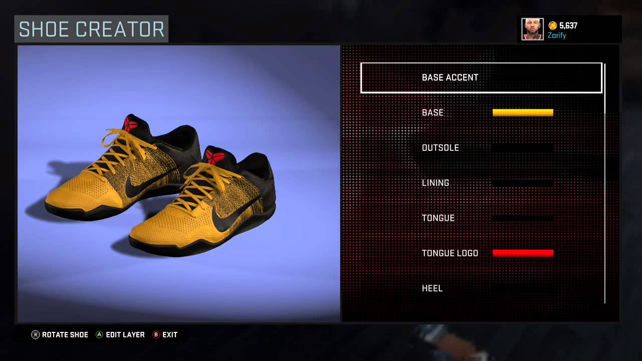 6475d6718159 ... best nba 2k16 shoe creator nike kobe 11 bruce lee youtube c1521 f89d3