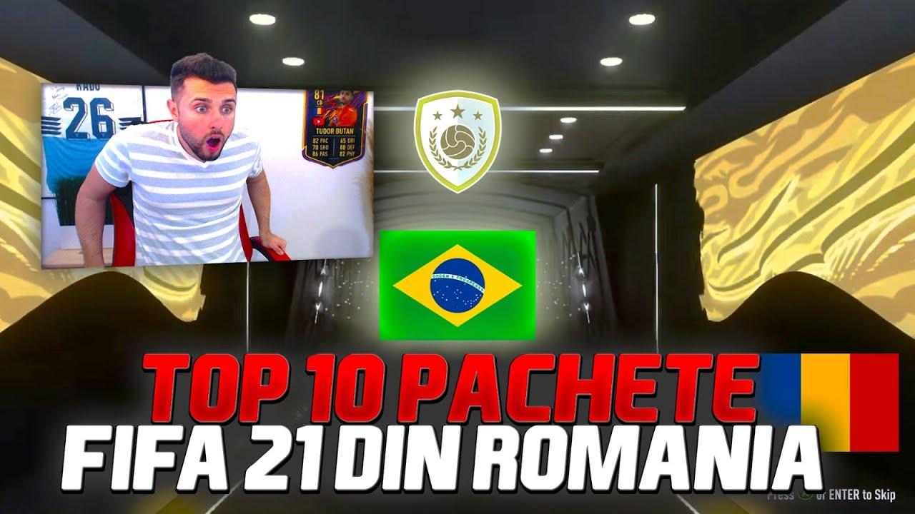 TOP 10 CELE MAI NOROCOASE PACHETE FIFA 21 DIN ROMANIA!