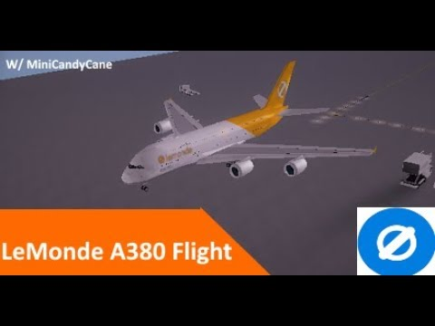 ROBLOX Flight -:- LeMonde A380 -:- Emergency Landing?