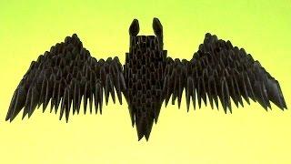 Модульное оригами для начинающих летучая мышь пошаговое изготовление (мастер класс) Знак Бэтмена
