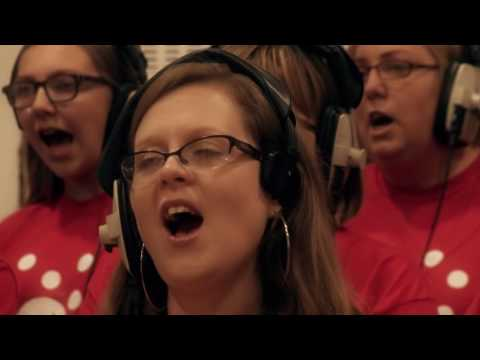 """Behind the scenes as hospice choir records """"The Living Years"""" at Abbey Road Studios"""