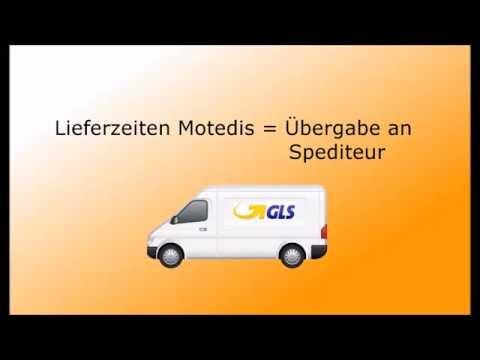 Motedis - Lieferzeiten - Delivery time