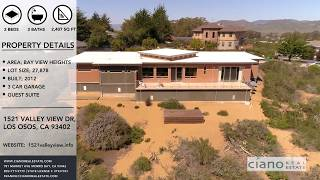 Contemporary Home For Sale - 1521 Valley View Los Osos California