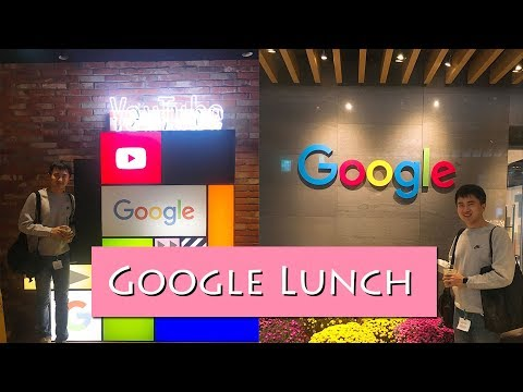 [Vlog] 구글가서 점심 먹기 (Go to Google Korea Office for lunch before going to work)