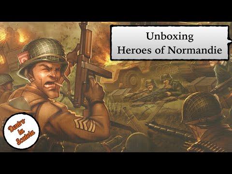 Dentro la Scatola (unboxing 058) - Heroes of Normandie