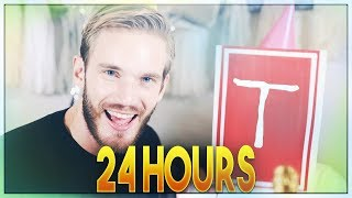 pewdiepie congratulations 24 hour version