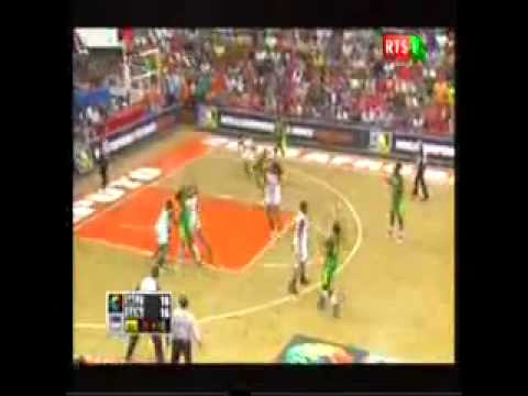 Afrobasket 1er Quart Temps Senegal Vs Mozambique Egalité 16 16