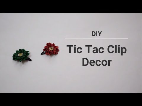 Tic Tac Clip decor ||Creative Indian Arts|| #56