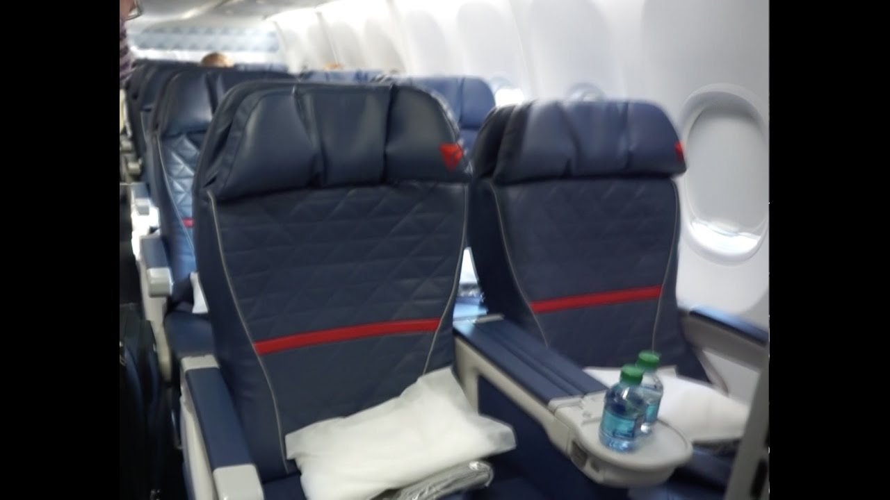 Delta 737 900er First Class Dtw Sea Youtube