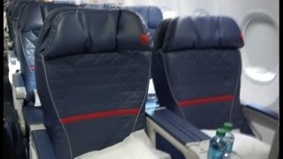 Delta 737-900ER | First Class | DTW-SEA