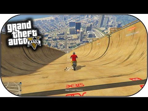 GTA 5 Mods - INSANE MEGA RAMP STUNT MODS - HUGE RAMP EXPLOSION MOD! (GTA 5 PC Mods)