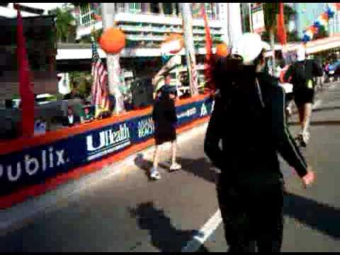 2010 VRP finishing Miami Half Marathon