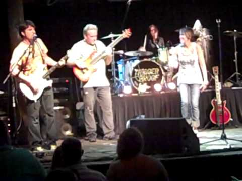 "Katie Rogers drums LIVE ""sweet home"""