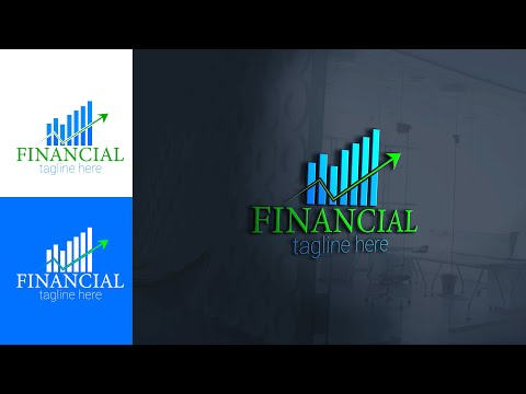 Business and financial logo design tutorial in adobe illustrator