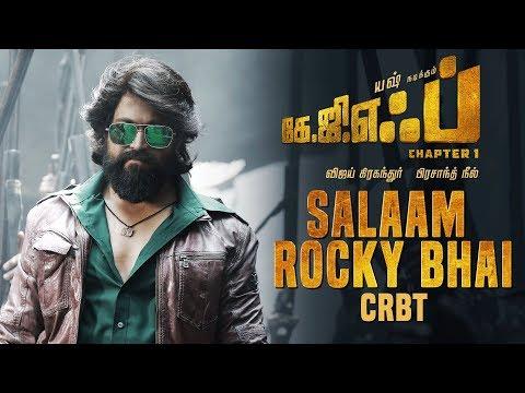 Salaam Rocky Bhai CRBT Codes   KGF Tamil Movie   Yash   Prashanth Neel   Hombale Films