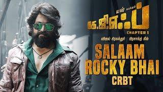 Salaam Rocky Bhai CRBT Codes | KGF Tamil Movie | Yash | Prashanth Neel | Hombale Films
