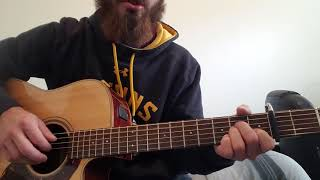 Marty Robbins- They're Hangin Me Tonight guitar tutorial