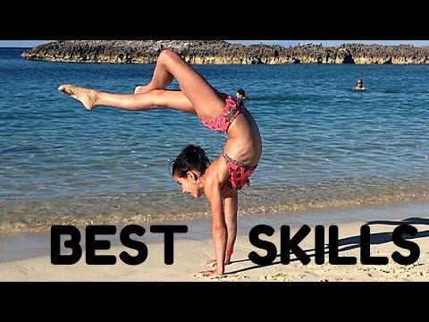 Annie's BEST Gymnastics Skills!