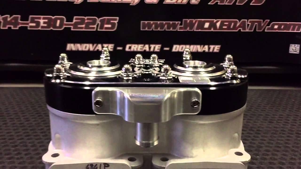 Wicked Motorsports ATV inc  Big Bore head  Super cub, whompus, serval