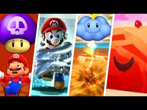 Evolution of Worst Power-Ups in Super Mario Games (1986 - 2018)