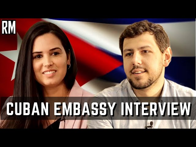 Chargée d'Affaires of Cuban Embassy on Protests in Cuba & Media Manipulation