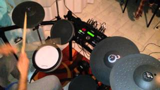 Rock and Roll - Led Zeppelin Drum Cover By: Fiore Matteo