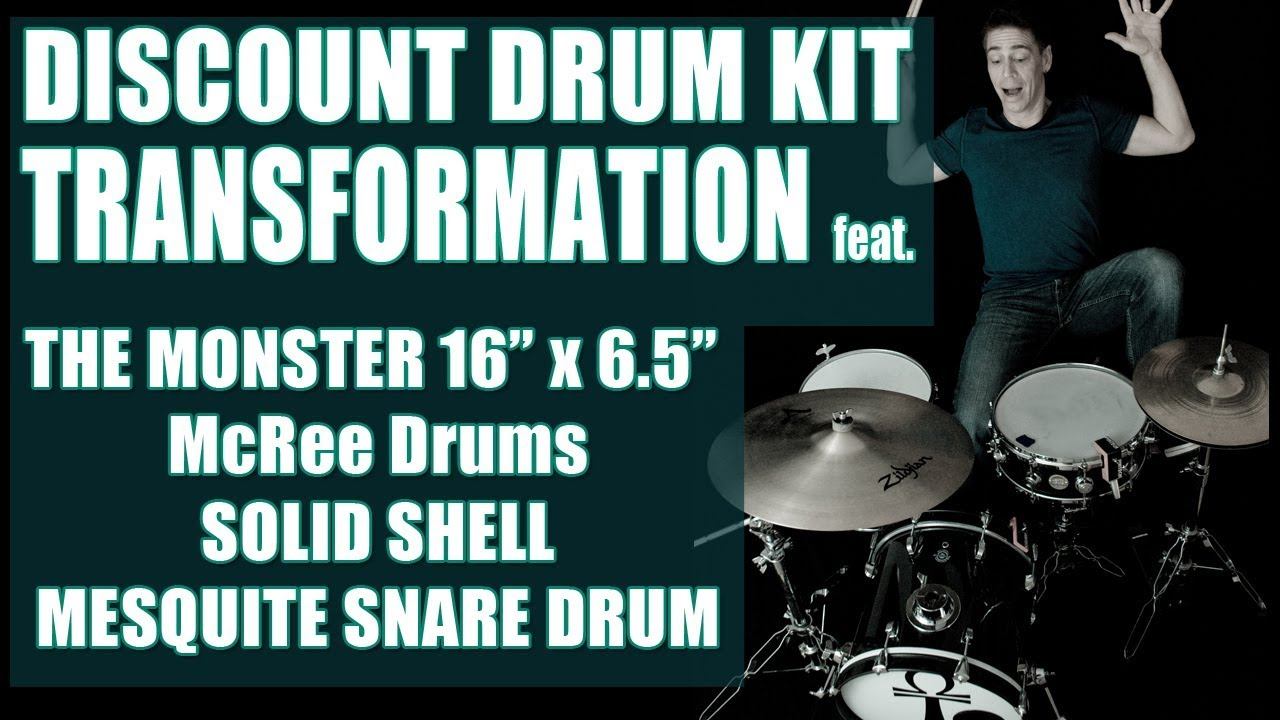 FREE! DRUM TUNING INTERVALS, AND HEAD CHOICE FOR JAZZ DRUMMING feat. the Questlove Breakbeats Kit