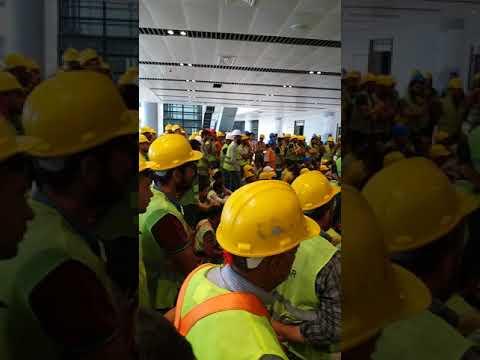 3.hava limanı İGA-İSG Büyük Iş kazasından sonra çalışanlara verilen Ağır Ders.
