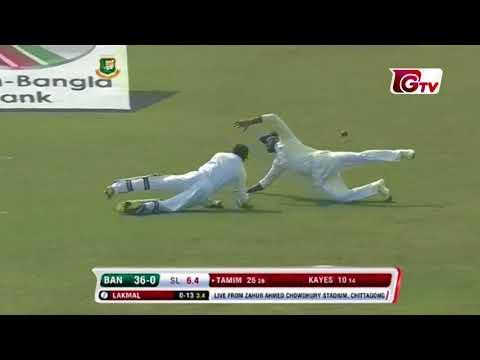 Tamim Iqbal's 52 Runs against Sri Lanka | 1st Test | 1st Innings | Bangladesh vs Sri Lanka