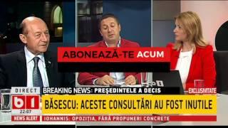 Băsescu, furios pe nominalizarea lui Mihai Tudose, o mascarada, Iohannis era înțeles cu Dragnea